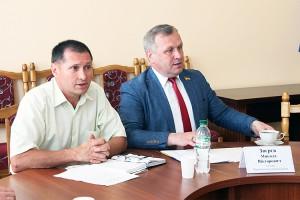 Лідери профспілкових організацій Чернігівщини провели зустріч з головою обласної ради