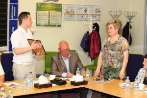 Голова Федерації профспілкових організацій області відвідав одну з кращих первинок Чернігівщини