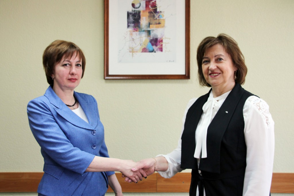 Профспілки Чернігівщини налагоджують співпрацю з білоруськими колегами