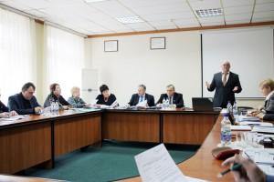 Засідання організаційної комісії Ради Федерації профспілок України в Чернігові